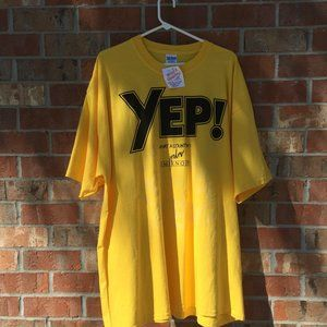 Promotional T shirts Yellow XXL Green XL Smirnof